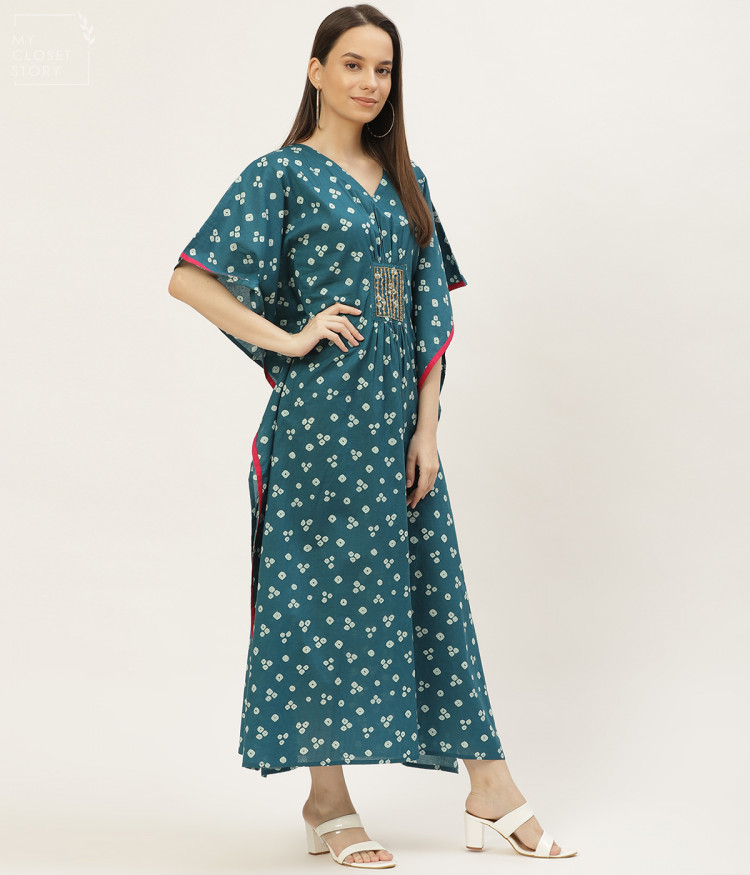 buy kaftan for women in india