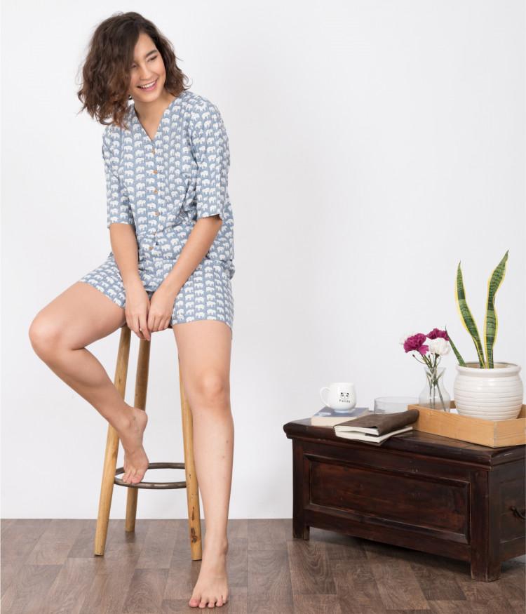 Maira Shorts Set